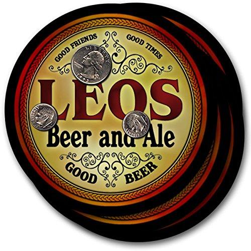 leos-beer-ale-4-pack-drink-coasters
