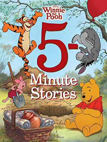 5-Minute Winnie the Pooh Stories (5-Minute Stories) [Disney Book Group] (Tapa Dura)
