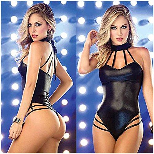 baonoopy-frauen-dessous-jumpsuits-clubwear-stripper-lackleder-unterwasche-schwarz