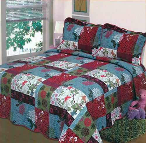 Red And Blue Comforter front-1081257