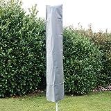 Brema 150930 Schirmhülle bis 200 cm PVC-Oxford 600 anthrazit