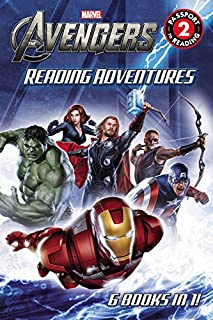 Book Cover: Marvel's The Avengers Reading Adventures