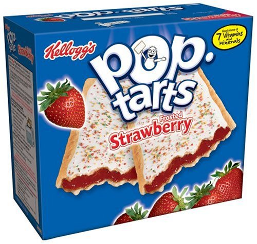 Buy Kellogg's Pop-Tarts Frosted Strawberry, 12-Count Boxes (Pack of 12) (Pop-Tarts, Health & Personal Care, Products, Food & Snacks, Breakfast Foods, Toaster Pastries)