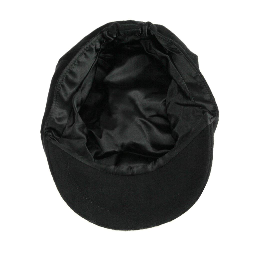 Unisex Winter Warm Baker Boy Newsboy Flat Cap Cheviot Tweed Beret Ivy Cabbie Cap Hat 4