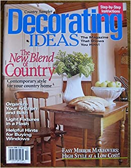 country sampler decorating ideas october 2000 single issue magazine