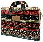 Kinmac New Bohemian Laptop Briefcase 11inch /12inch/ 13 Inch Laptop Case for Macbook Air 11 / Macbook Air 13/macbook Pro 13/ 13.3 Inch/11.6 Inch/ 12.5 Inch Laptop Bag/laptop Sleeve