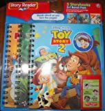 STORY READER DISNEY (3) STORYBOOKS TOY STORY 2, JUNGLE BOOK AND PINOCCHIO