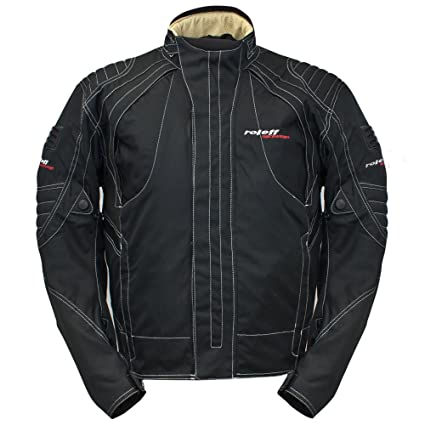 Roleff Racewear 6103 Blouson Moto Berne, Noir, M