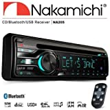 New NAKAMICHI NA205 Bluetooth Single DIN CD USB AUX Car Radio Stereo Headunit