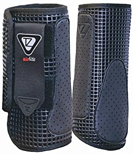 Buy Equilibrium Tri-zone Airlite Impact Sports Boots Hind Black Fits 15hh-16.2hh From Coltsfoot... by Equilibrium