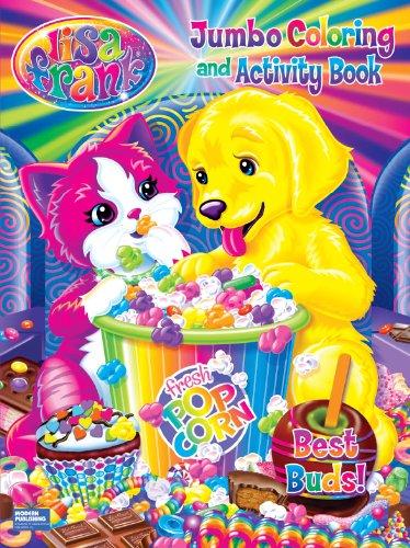 Lisa Frank Jumbo Coloring & Activity Book ~ Best Buds PDF