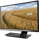 acer  27型ワイド液晶ディスプレイ (光沢/27型/6ms/IPS/1920x1080/250cd/ m2 / 100000000:1/入力端子ミニD-Sub15ピン・HDMI Ver.1.3 / スピーカー有 / チタン) S276HLtmjj