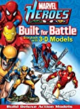 Marvel Heroes Built for Battle (Press-out Play) (0794421253) by Marvel