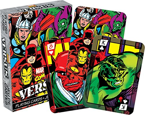 MarvelvsComic Playing Cards