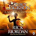 Percy Jackson and the Last Olympian Audiobook by Rick Riordan Narrated by Jesse Bernstein