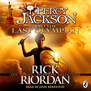 Percy Jackson and the Last Olympian Hörbuch