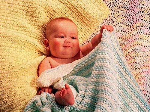 Fiber Trends Crochet Pattern CH31 Easy Crochet Baby Blankets