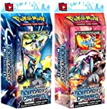 TWO (2) THEME DECKS - Pokemon Card Game Boundaries Crossed Phase 7: BLACK & WHITE KYUREM DECKS [PRESALE: SHIPS NOVEMBER 7]