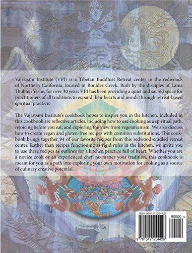 The Vajrapani Institute Cookbook: Recipes and Reflections