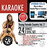 All Star Karaoke Young Female Country w/ Karaoke Edge Vol 2 (ASK-75)