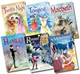 Various Usborne Young Reading Gift Edition Shakespeare Collection - 6 Books RRP £29.94 (Romeo & Juliet; Macbeth; Hamlet; A Midsummer Night's Dream; Twelfth Night; The Tempest)