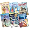 Usborne Young Reading Gift Edition Shakespeare Collection - 6 Books RRP �29.94 (Romeo & Juliet; Macbeth; Hamlet; A Midsummer Night's Dream; Twelfth Night; The Tempest)