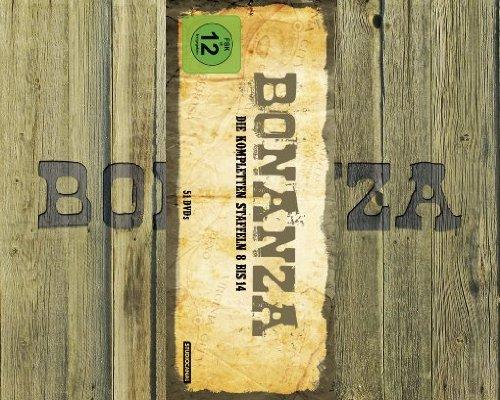 Bonanza: Die kompletten Staffeln 8 bis 14 (geprägte Holzkiste) [51 DVDs]