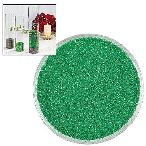 Emerald Green Colorful Decorative Sand (1 Lb.) Arts & Crafts