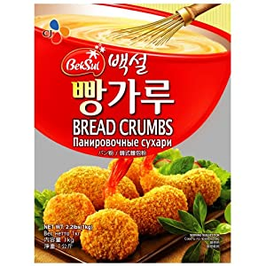 CJ Bread Crumbs Mix, 35.27-Ounce Packages (Pack of 8)
