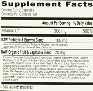 Garden of Life Vitamin Code Vitamin C, 120 Capsules (Pack of 3) from Garden of Life