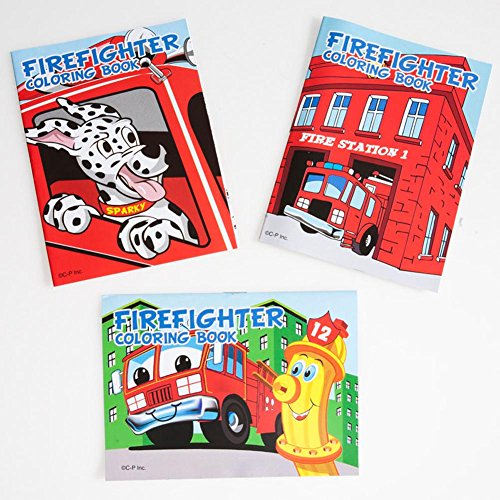 Fire Fighter Coloring Books - 1