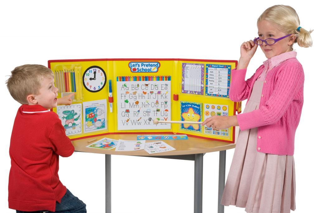 Amazon.com: ALEX Toys Pretend & Play Let's Pretend School: Toys