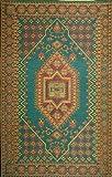 Mad Mats Oriental Turkish Indoor/Outdoor Floor Mat, 4 by 6-Feet, Aqua