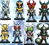 仮面ライダーシリーズ ワールドコレクタブルフィギュア vol.18 全8種セット