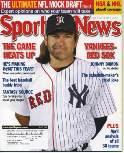johnny damon hair. 2006 Johnny Damon/New York