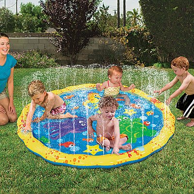 BANZAI PLAY MAT JR. SPRINKLE 'N SPLASH WATER TOY 54D