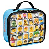 Lego Minifigure Lunch Kit Light Blue