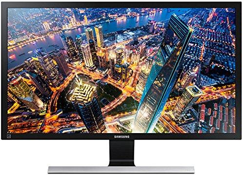 Samsung U24E590D 59,94 cm (23,6 Zoll) Monitor (HDMI, 4ms Reaktionszeit) schwarz