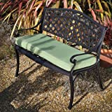 Rose Metal Garden Bench Antique Bronze
