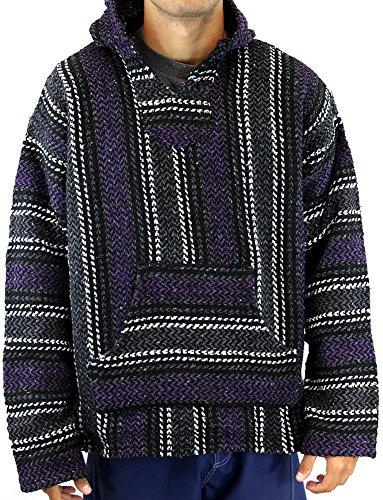 baja-joe-striped-woven-eco-friendly-jacket-coat-hoodie-purple-medium