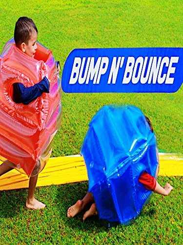 BUMP N BOUNCE Slip N Slide Fight Ball Competition Challenge Family Fun Toy Fun Surprise