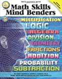 img - for Math Skills Mind Benders, Grades 6 - 12 by Cindy Barden (2010-02-19) book / textbook / text book