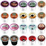 20 - Winter 2.0 Coffee K-cups for Keurig Featuring Tootsie Roll and Junior Mints Hot Cocoa, Pumpkin Spice, Da Bomb, Hazelnut, Vanilla French Toast and more (10 Flavors)
