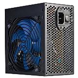 Hiditec SX 500W – Fuente de alimentación (500W, 115 – 230V, 50 – 60 Hz, 12 cm, 20+4 pin ATX, ATX) Negro