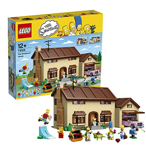 Lego 71006 The Simpsons Family House Collector's Edition