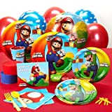 Super Mario Bros. Standard Party Pack (16pk)