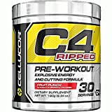 Cellucor C4 Ripped Fruit Punch 6,34 oz 30 Portions