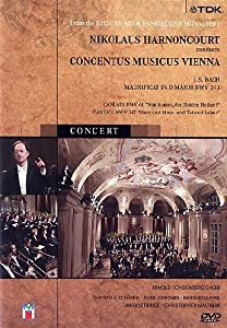 Nikolaus Harnoncourt, Concertus Musicus Vienna : A Concert of Music By Bach [DVD] [2011]
