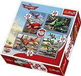 Disney Planes, Sky Travel - 4in1 Puzzle ...
