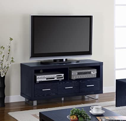 Coaster Home Furnishings 700644 Contemporary TV Console, Black